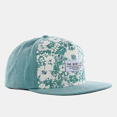 895e27ae33c The Quiet Life Liberty Floral Snapback Cap - Green