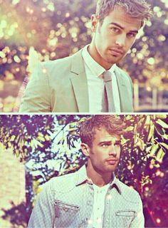 i try not to look at theo james, because everytime i do i stop breathing.