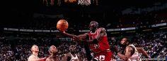 Michael Jordan Chicago Bulls Dunk Cover