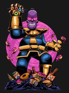 Thanos Homer, The Simpsons Homer Simpson, Simpson Wallpaper Iphone, Cartoon Wallpaper, Cartoon Kunst, Cartoon Art, The Simpsons, Thanos Avengers, Dope Art, Futurama