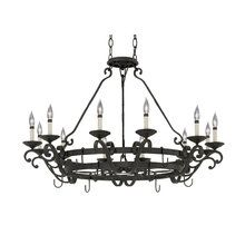 View the Designers Fountain 9031-NI 12 Light Chandelier from the Barcelona Collection at LightingDirect.com.