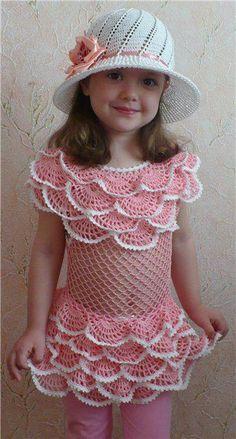 DE MIS MANOS TEJIDOS Y MAS...: Lindo crochet para nenas