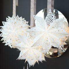 Artisan Paper Snowflakes