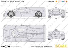 PORSCHE 919 HYBRID - Google zoeken Porsche, Floor Plans, Google, Floor Plan Drawing
