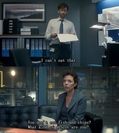 It's really just the Doctor in hiding and he refuses to eat fish and chips because it reminds him of Rose and her addiction..