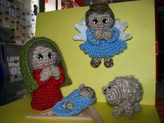 Amigurumi Nativity Español : Amigurumi nativity set nativity amigurumi and crochet