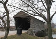 Ackley Covered Bridge, built in 1832, Greenfield Village, Dearborn, MI