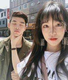 something special ♡ Ulzzang Korea, Korean Ulzzang, Couple Ulzzang, Ulzzang Girl, Perfect Couple, Best Couple, Cute Korean, Korean Girl, Bff
