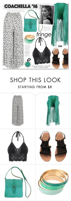 """Pack for Coachella!"" by mada-malureanu ❤ liked on Polyvore featuring P.A.R.O.S.H., Most Wanted, Love Quotes Scarves, Spongellé and packforcoachella"