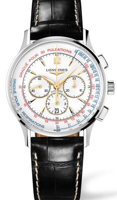 Longines Asthmometer-Pulsometer Chronograph - Doctor's Watch