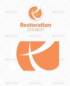Contemporary Church Logo - GraphicRiver Item for Sale