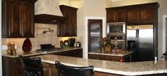 John Johnson Custom Homes Lubbock Texas. #johnjohnsoncustomhomes #kitchen