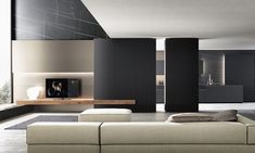 The style and design Modulnova widens to stay with the living collection 'Md home'. The unique atmosphere Modulnova extend to new collections of modern living, elegant design and high quality materials. Living Room Tv Unit, New Living Room, Living Room Interior, Design Hall, Flur Design, Lounge Design, Cabinet D Architecture, Interior Architecture, Modern Home Interior Design