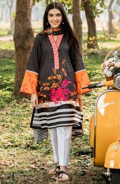 Simple Pakistani Dresses, Pakistani Fashion Casual, Pakistani Dress Design, Pakistani Outfits, Stylish Dress Designs, Stylish Dresses, Casual Dresses, Stylish Dress Book, Women's Casual