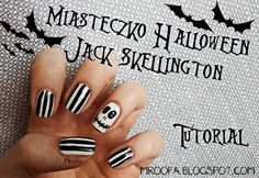 Miasteczko Halloween- Jack Skellington   Tutorial