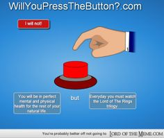 I see no possible downside to this. *smashes button with Gandalf's staff*