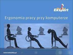 Ergonomia pracy przy komputerze BHP - YouTube