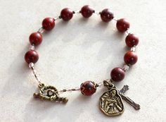 Mary, Undoer of Knots rosary bracelet