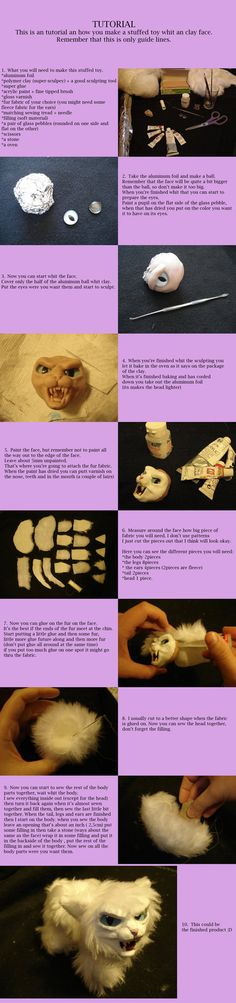 Tutorial by ~BellaSofran   too cool huh?  Nothing is ever wrong with polymer clay! Who will u create?