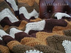 My crochet blanket is almost finished only a few rows to go!! ❥ 4U hilariafina http://www.pinterest.com/hilariafina/