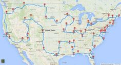 Science Says This Is The Ultimate US Road Trip You Can Possibly Take