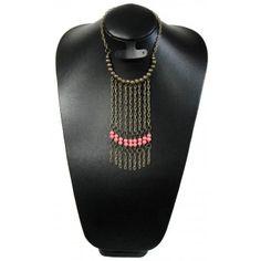 Collar de Moda con Perlas