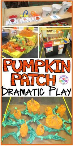 Pumpkin Patch Dramatic Play: How to set it up in your preschool, pre-k, tk, and kindergarten classroom