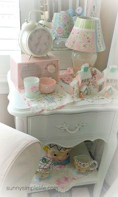 Shabby Chic Christmas Bedroom, shabby chic bedroom decorating ideas
