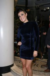Kym Marsh Night Out Style - San Carlo Restaurant in Manchester Kym Marsh, Fashion Night, Manchester, 30th, Night Out, Dresses With Sleeves, Restaurant, Long Sleeve, Outfits