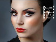 Moulin Rouge Look L: Make-Up Atelier Paris TUTORIAL! #howto #makeup #inspiredlook - bellashoot.com