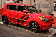 kia soul painted with a design | Kia Soul Hamstar
