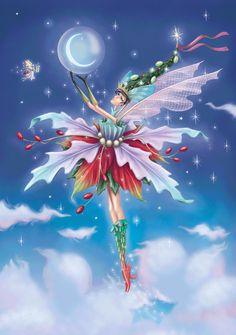 Poinsettia Fairy Charity Pack - The Paper D'Art Shop