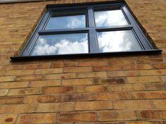 Our most popular window - Zwero original. Scandinavian Windows, Scandinavian Design, Aluminium Windows, New Builds, New Construction, Windows And Doors, Sliding Doors, Popular, London