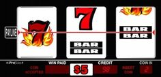 flaming sevens slot machine