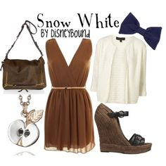 Snow white - by disneybound