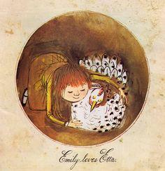 Vintage Kids' Books My Kid Loves: My Little Hen - Alice and Martin Provensen