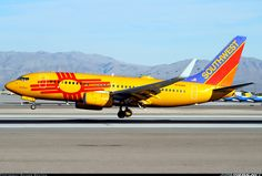 Souethwest New Mexico Boeing 737-7H4