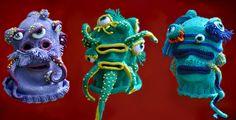 Brutal Knitting, monstruos de estambre