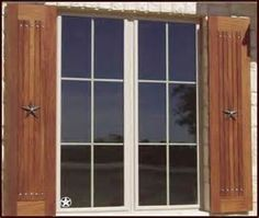 SHUTTERS interior or exterior Custom made from reclaimed wood