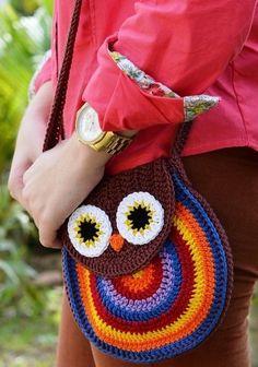 Crochet Owl Bag - Chart