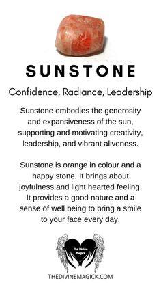 Sunstone (Confidence, Radiance, Leadership)