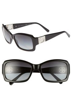 Tory Burch 56mm Polarized Sunglasses available at #Nordstrom