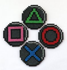 PlayStation Drink Coasters with Container