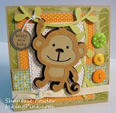 Create a Critter. inkingpink: Fuzzy Monkey