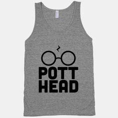 Pott Head Tank | HUMAN