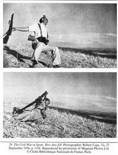 En Cerro Muriano o en Espejo, miliciano anarquista de Alcoi de Robert Capa/MagnumFotos
