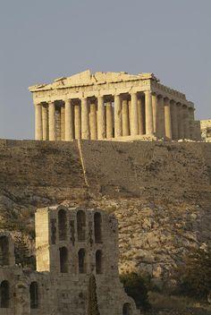 ✭ The Parthenon on the Acropolis in Athens, Greece