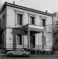 Project 3, Athens Greece, Window Design, Neoclassical, Once Upon A Time, Old Photos, Documentaries, The Past, Villa