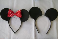 Minnie Mickey party hat alternative (& party favor!)