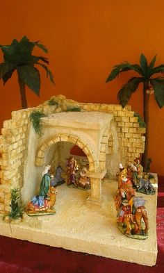 1 million+ Stunning Free Images to Use Anywhere Christmas Village Display, Christmas Nativity Scene, Christmas Villages, Christmas Art, Simple Christmas, Christmas Ornaments, Christmas Crib Ideas, Christmas Pictures, Christmas Decorations